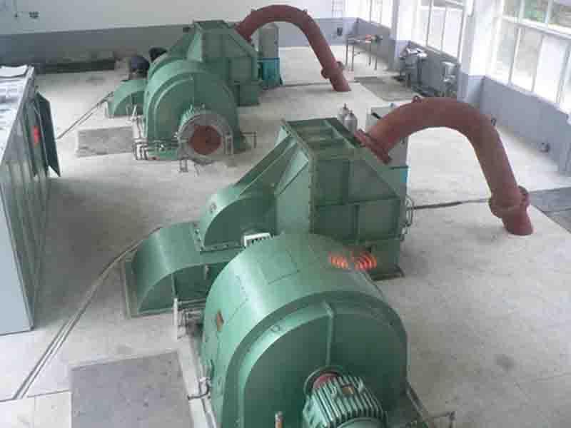Generator Unit with Two Nozzles Turbine (SFWE-W-320KW-6/740)