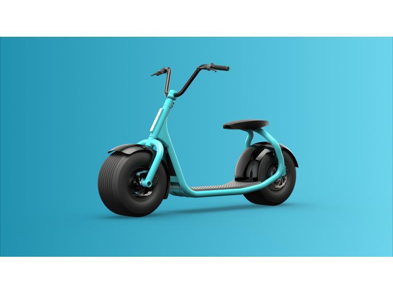 Aluminium Frame Electric Citycoco Scooter