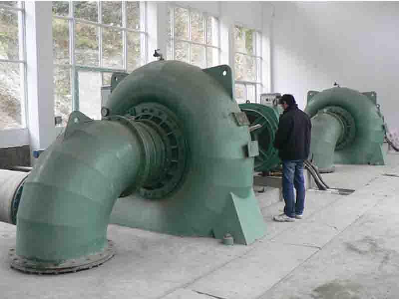 Generator Unit with Francis Turbine (HL180/D06-WJ-71)