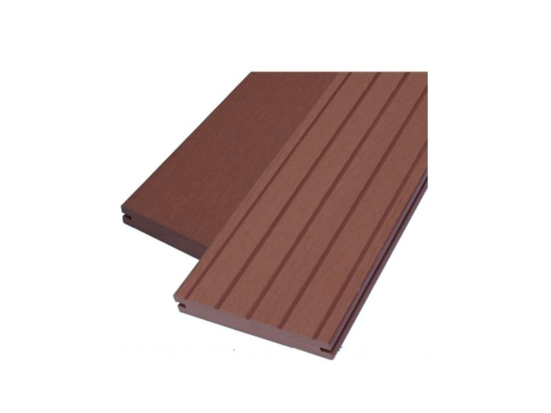 Outdoor Easy Installation Wood Plastic Composite Decking Factory Price