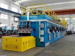 High Temperature Belt Dryer for De-Nitration Catalyst