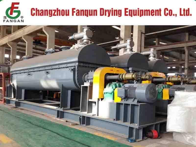 CE ISO ASME Certificated Paddle Dryer for Paste