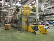 High Temperature Belt Dryer for Ceramic Drying