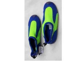 Textile Aqua Shoes