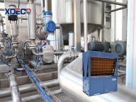High Temperature 85 Degree Air To Water Heater Heat Pump