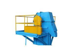 Round Link Chain Bucket Elevators for Additives / Fertilizers / Alternative Fuel / Wooden Chips