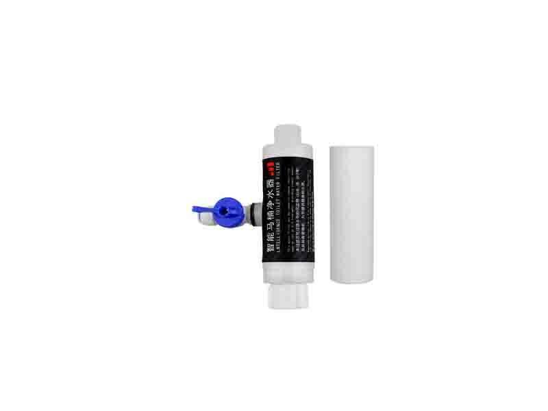 Tee Ball Valve Type Bidet Water Filter for Bidet Toilet Seat