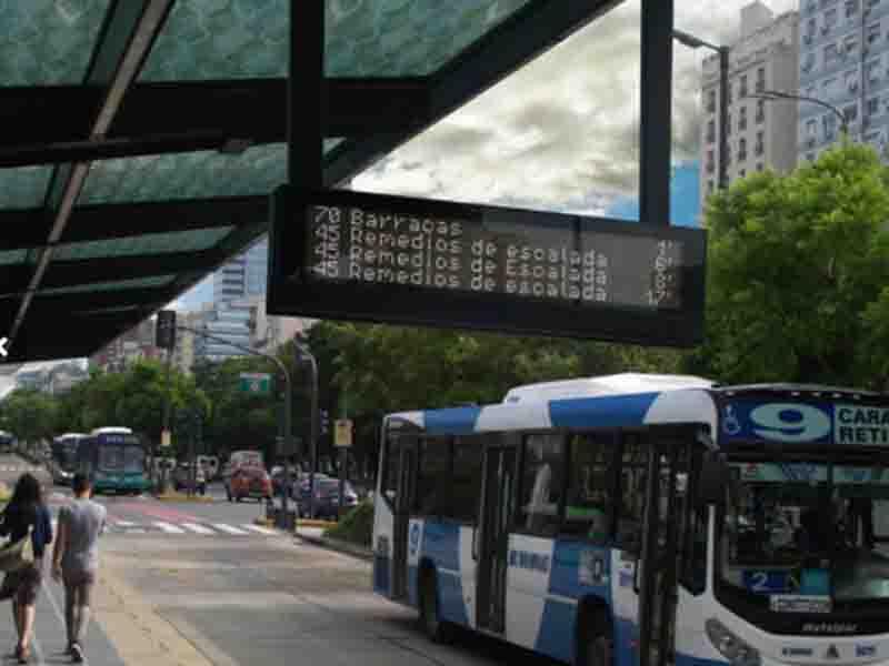 Bus Station Display System