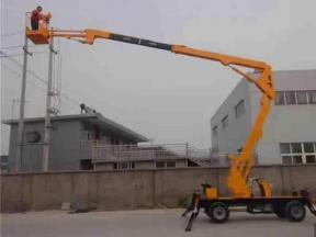 Widely Used Folding Arm Hydraulic Self-Working Boom Lift Platform