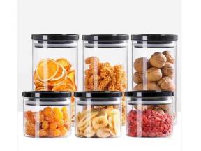 Borosilicate Glass Nuts Dried Fruit Storage Jar