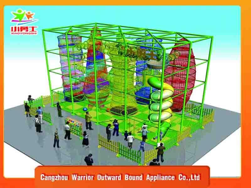 Most Hot Sales Customized Adventure Park Equipment Outdoor Playground for Sale
