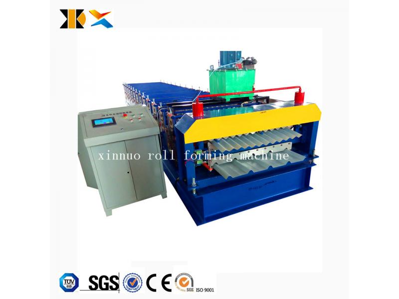 Xinnuo Metal Roof and Corrugated Sheet Double Layer Roll Forming Machine