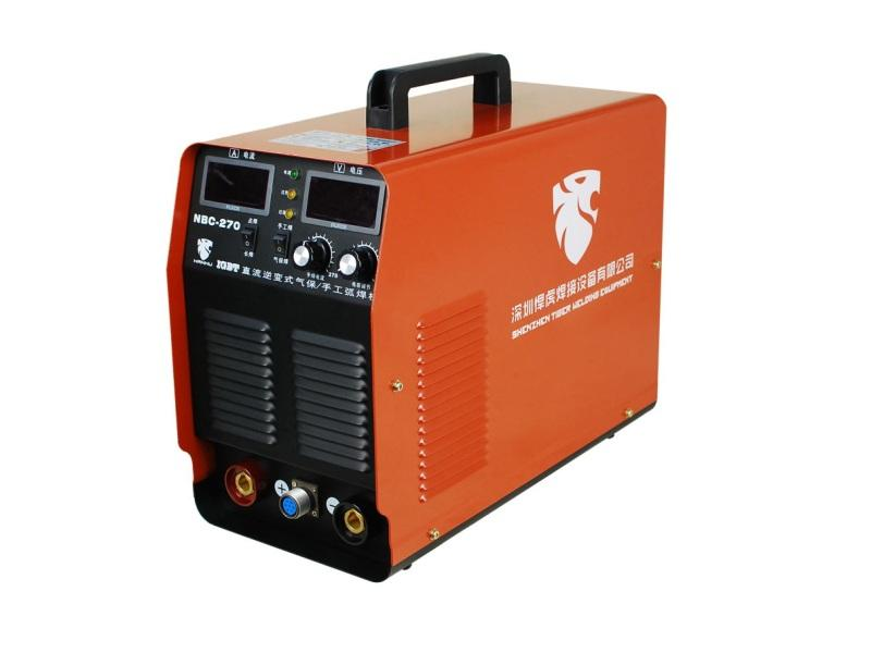 NBC-270  CO2 Gas DC Inverter Welding Machine Weldable Carbon Steel Carbon Dioxide Protection Welder