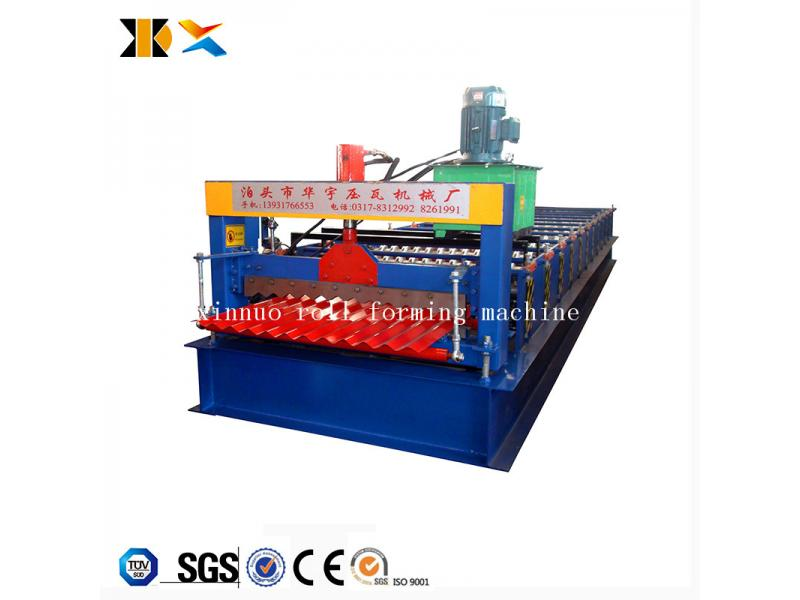 Xinnuo Metal Roof Corrugated Sheet Roll Forming Machine
