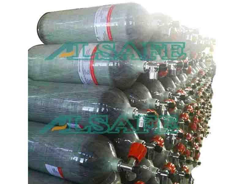 12L Air Carbon Cylinder for Breathing Apparatus Scba