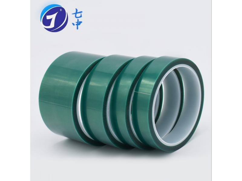 Green Polyester Silicone Tape