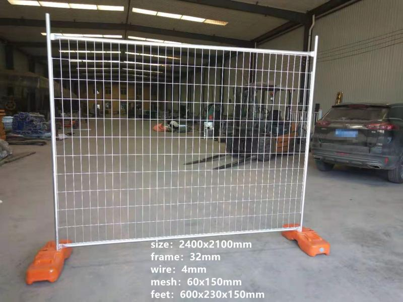 Temporary Barrier Fence for Construction Sites Fencing
