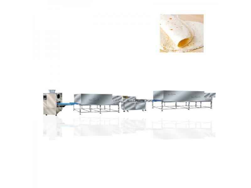 Different Size Flour Tortilla Machine Arabic Bread Maker Pita Bread Making Machine