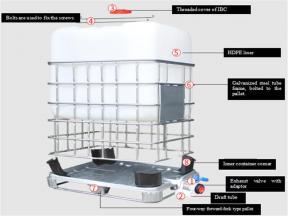 IBC Tank 500L-1000L for Pharmaceutical Raw Materials API
