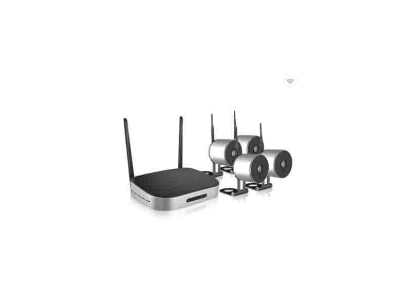 Tollar Vision New Promotion 4CH HD Mini Wireless Hidden Outdoor 720P IP Wifi Camera Kit