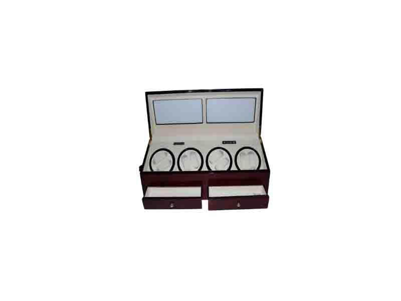 4+6 Automatic Motor Leather Watch Winder