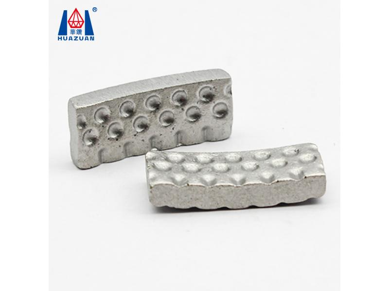 Groove Dot Shape Diamond Core Drill Bit Segment for Cutting Concrete Reinforced Concrete