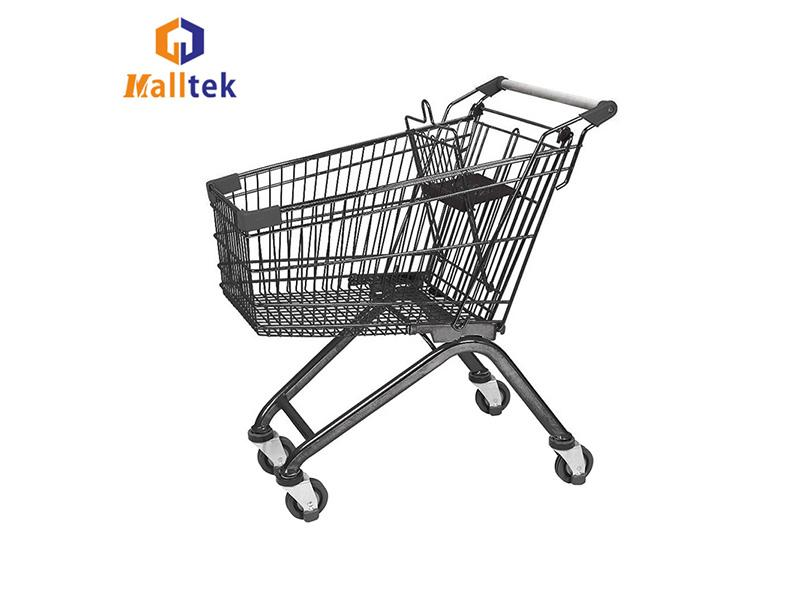 Carrefour Supermarket Design Quality Grocery Shopping Cart Trolley
