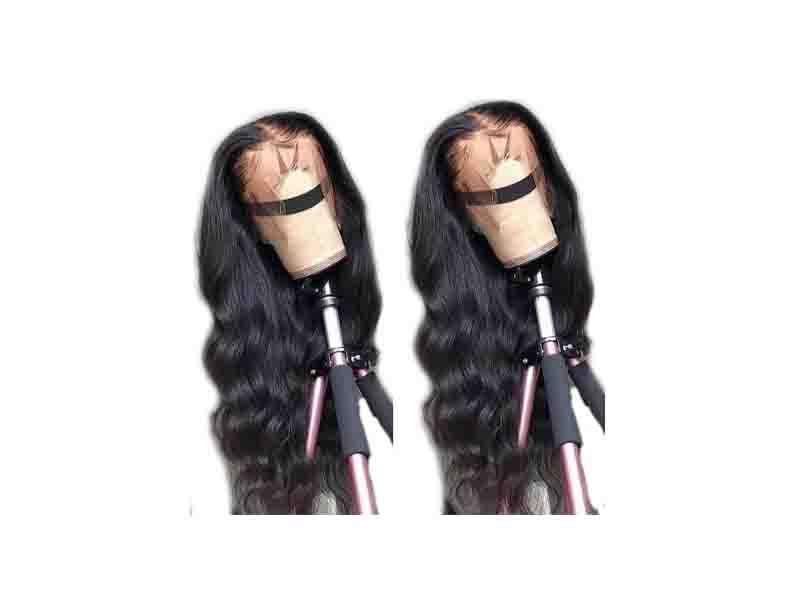 150% Density Fake Scalp Wigs/New Design Pre Plucked Bleached Knots Natural Hairline 100% Human Hair