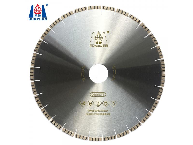 Fast Stone Cutting Turbo Segment Type Diamond Marble Saw Blade