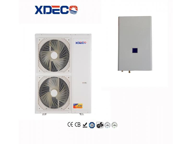 Air Source EVI Split Heat Pump Work At -30 Degree