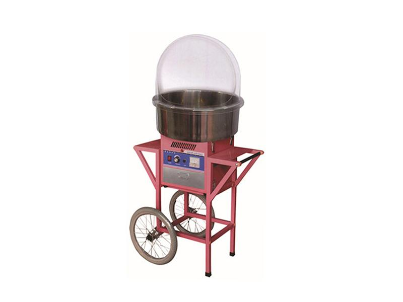 Commercial Cotton Candy Floss Machine with Cart