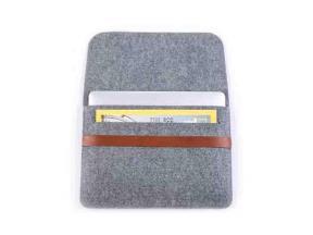 Felt Laptop Bag Laptop Sleeve Organizer 3mm Thick Polyester Material