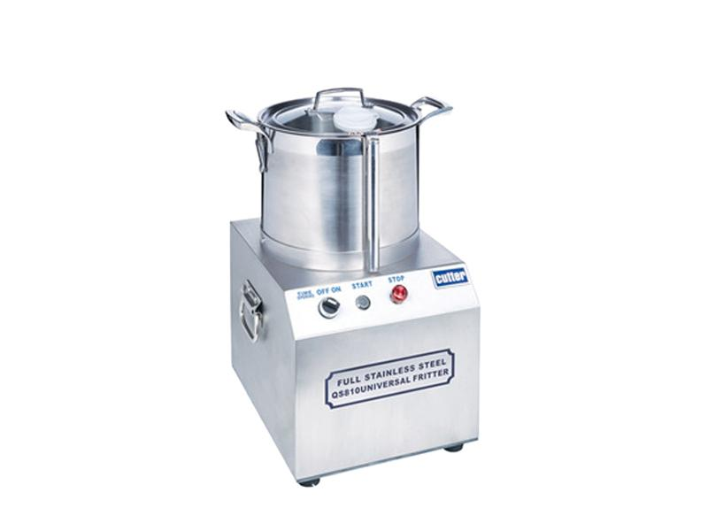Professional Stainless Steel Food Processor with Double Blades