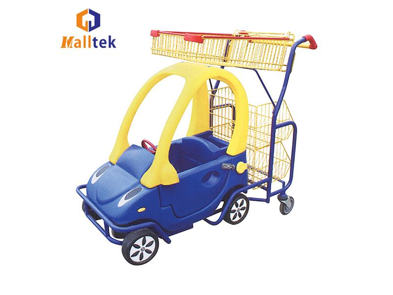Kids Supermarket Children Shopping Trolley Cart