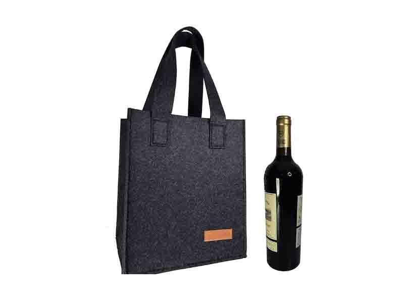 Wool Felt Wine Bag Customize Wholesale Eco-Friendly