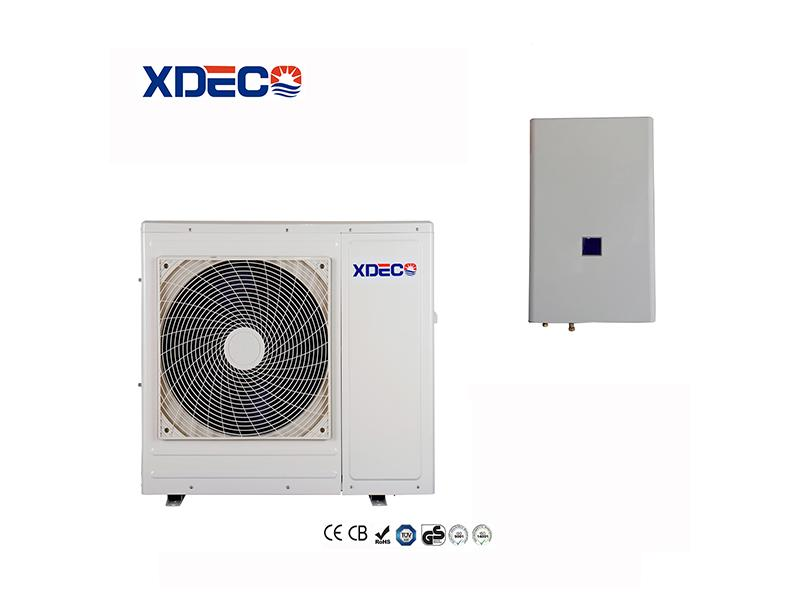 Air Source Split Heat Pump for Sanitary Hot Water and Room Heating with CE Certificate