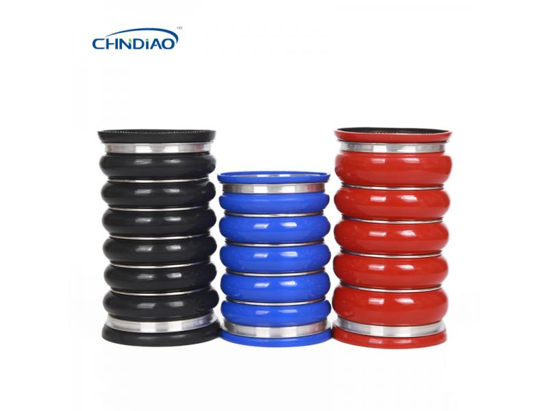 Durable Silicone Hump Hose Silicone Bellows Intercooler Silicone Hose Factory Prices