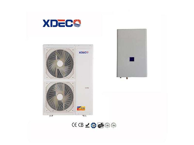 High COP Class A+ Split Air Source Heat Pump