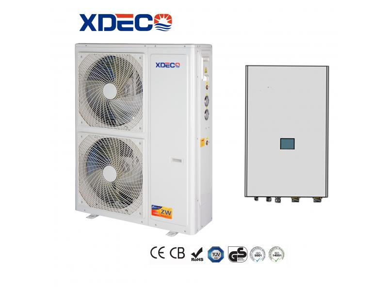 Air Source EVI Split Heat Pump Work At -30 Degree