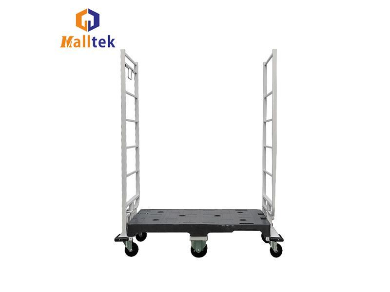 Chairborne Plastic Deck High-End Narrow Aisle U-Boat Platform Truck Trolley Cart