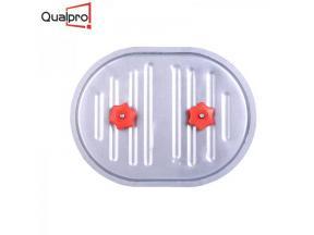 Curved or Flat Steel Plumbing Duct Access Panel Door AP7410