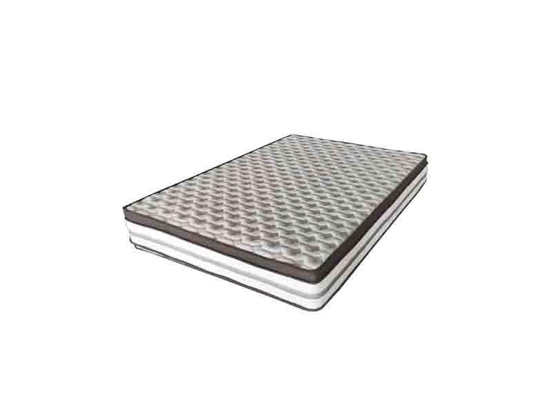 Custom Factory Floor Anti Bed Sore Purple Foam Pocket Spring Mattress with King Size Memory