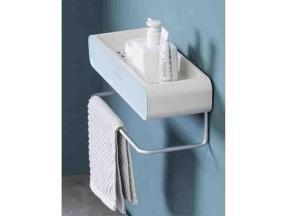 Wall Mount Storage Towel Rack WY-0054