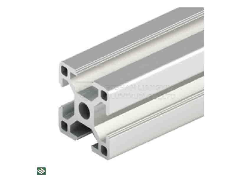 Customized 6061 6063 Anodized Industrial Aluminum Profiles Extruded Guide Rail