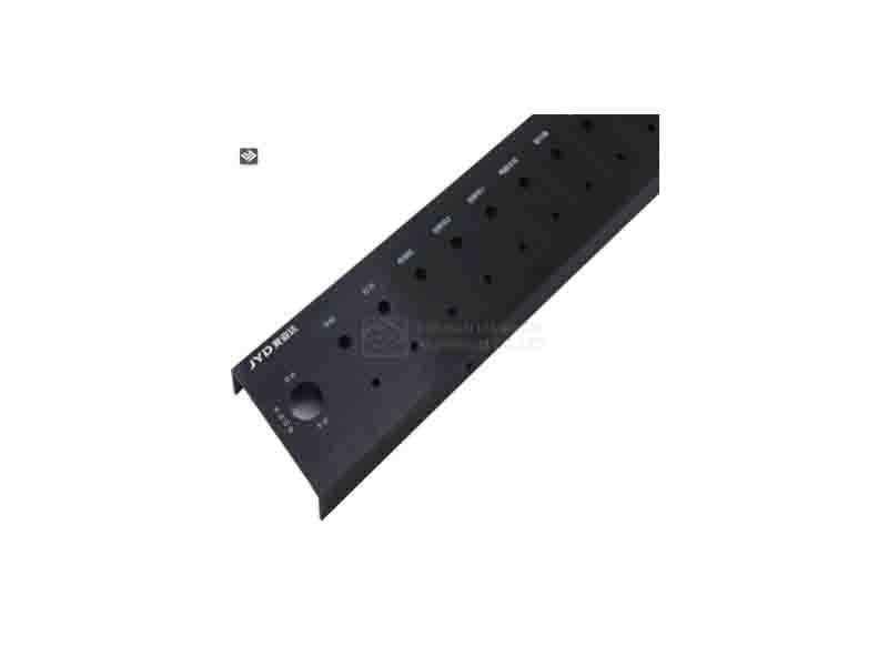 6000 Series Extruded and CNC Machining Custom Multimedia Aluminum Profile
