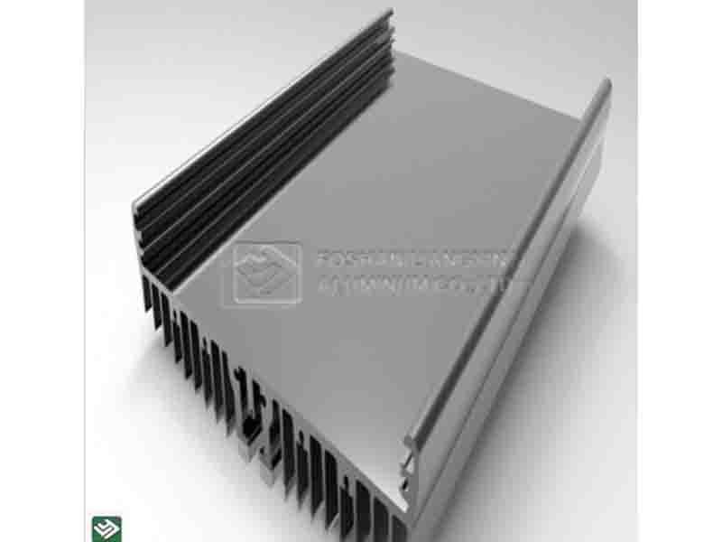 Foshan Custom Machining 6000 Series Aluminum Heat Sink Production Manufactory