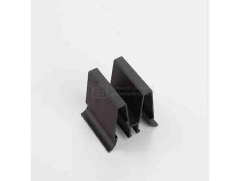 Custom Aluminum Parts Extrusion CNC Machining Curtain Wall Aluminum Profile