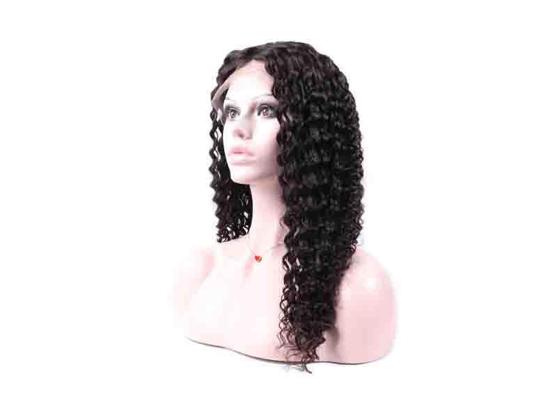 Trio Wholesale Silk Base 100% Raw Natural Color Brazilian Virgin Lace Front Human Hair Wig