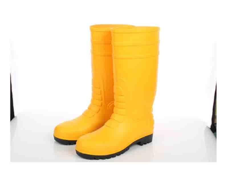 JW-828 Matte Surface PVC Safety Boots