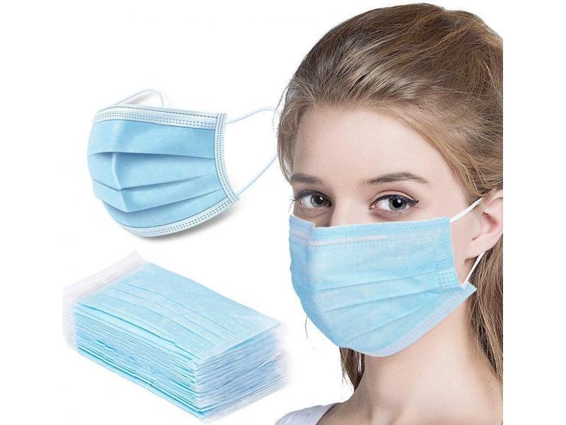 CE Approved 3ply Earloop Melt-blown Nonwoven Face Masks Disposable Medical Mask